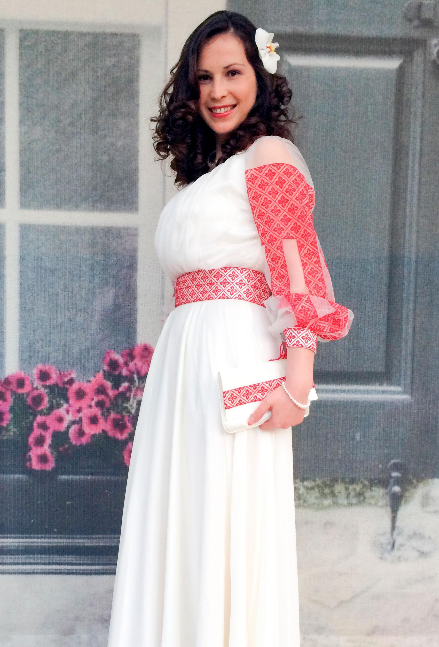 Rochie Mihaela Pentru Nunta Traditionala Romaneasca Costume Ii Si